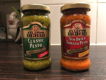 Filippo Berio pesto is egg-free