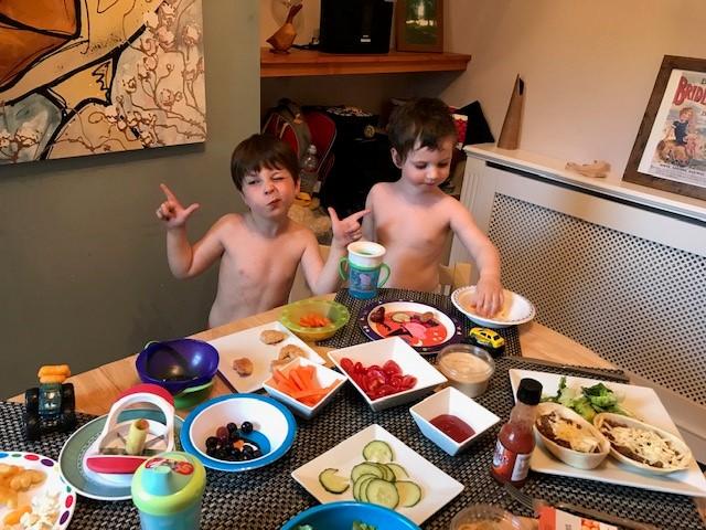 naked chefs